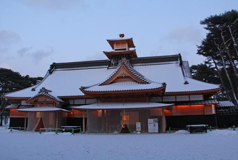 2011五稜郭冬夕-5