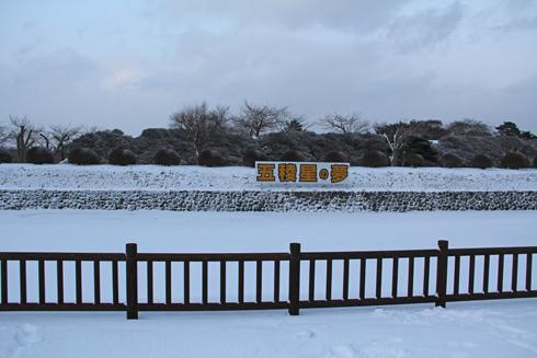 2011五稜郭冬夕-2
