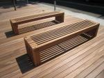 こんなベンチも設置されました。
