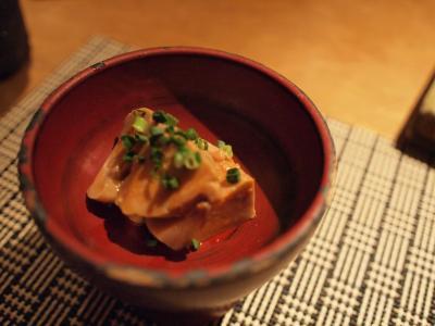 鮟肝の生姜煮