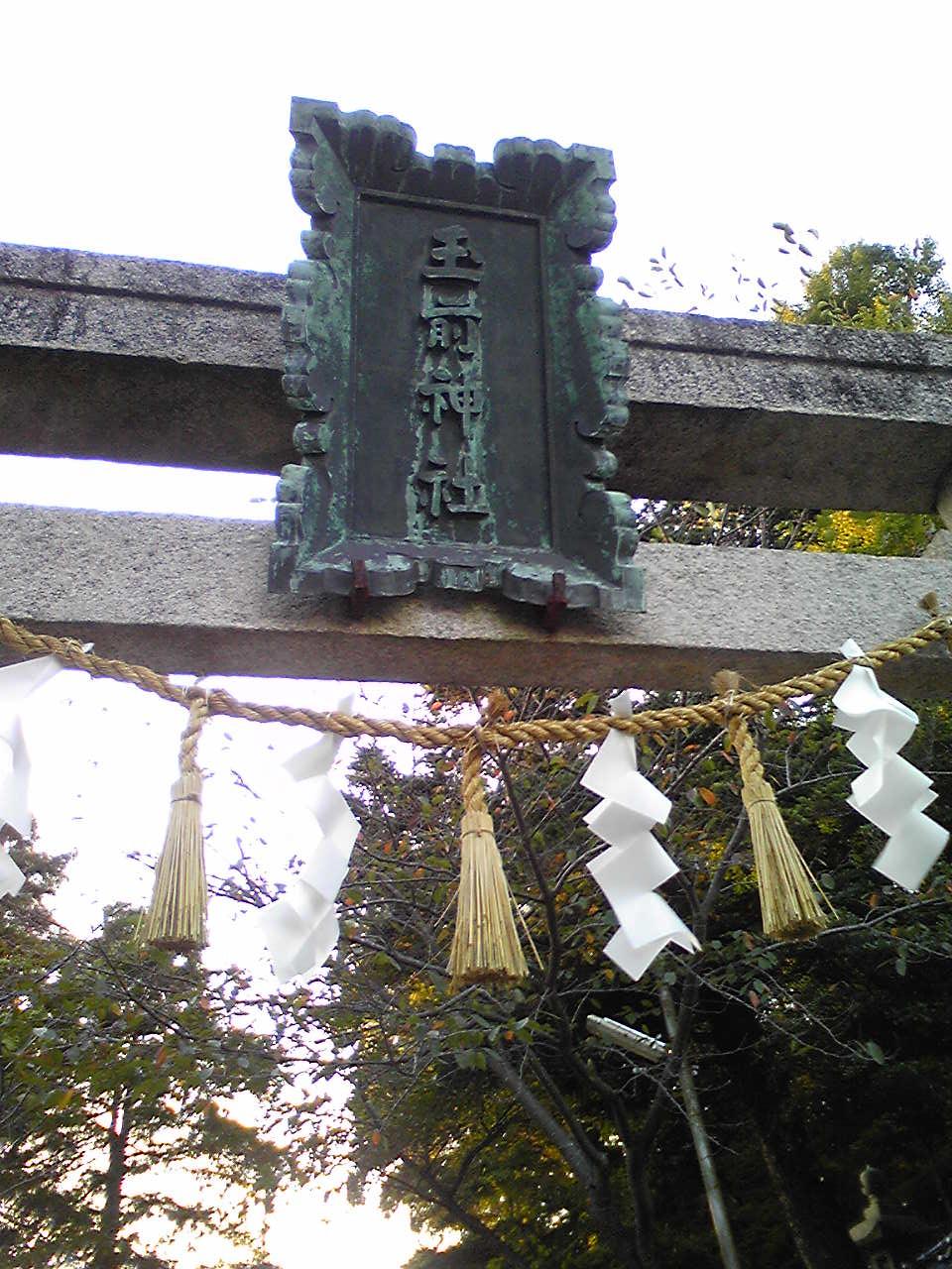 Tasaki shrine torii
