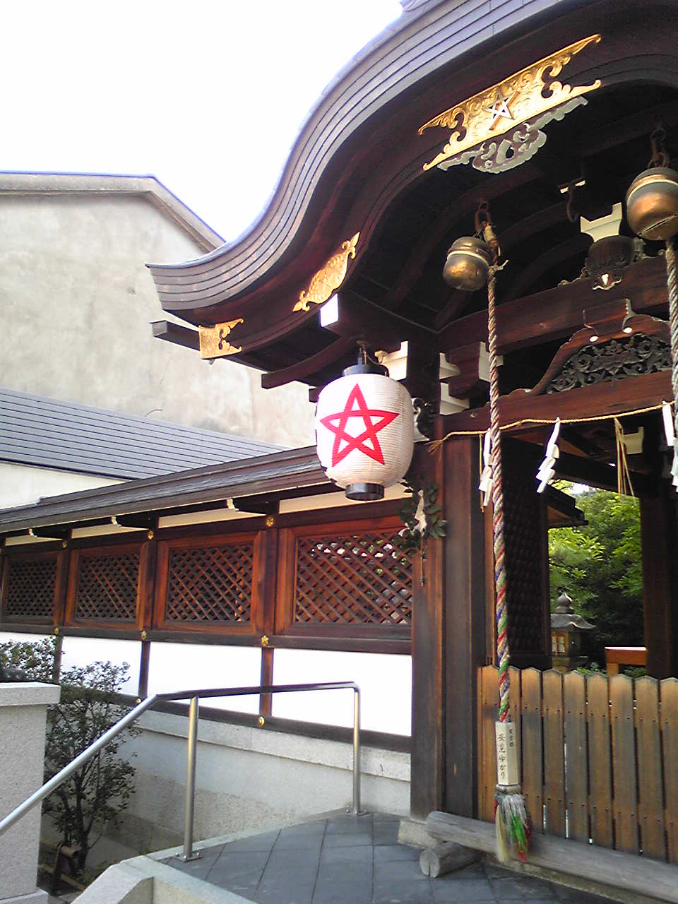 abeno seimei shrine honden 2