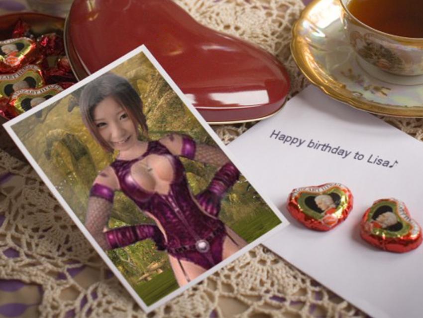 お誕生日おめでとう~♪