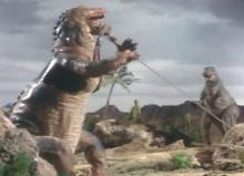ティクラのブログ-引き揚げ作業中にティラノサウルス接近