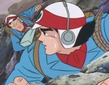 ティクラのブログ-崖を登る