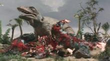 2~2.5次元空間探訪日記-コリトサウルスを捕食