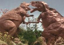 2~2.5次元空間探訪日記-ティラノサウルスとゴルゴサウルス