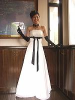 ウェディングドレス レンタル TIG DRESS MARGARET 黒小物