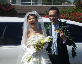 花嫁は大口を開けてはいけません…