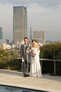 東京タワーが見えますよ!