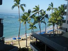 さよーならー ハワイのビーチ