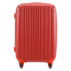 ニッセンで購入したスーツケース。安さがものをいう