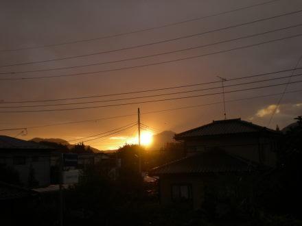 夕陽110