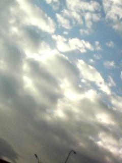 光と雲のコラボレーション!