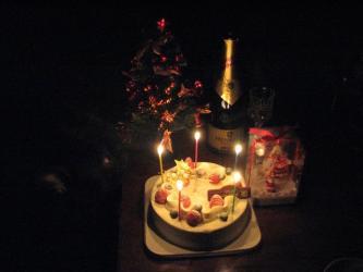 12月25日シンちゃんが・・・。