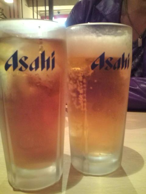 どっちが生ビールでしょう?