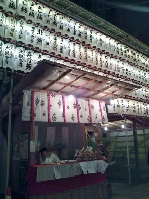 椙森神社の提灯