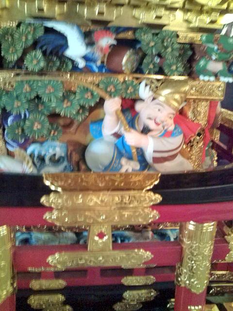お神輿の恵比寿様