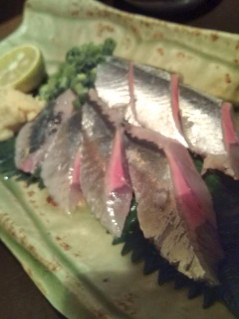秋刀魚のお造りですよ~