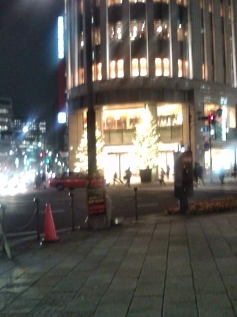 日本橋三越のツリー