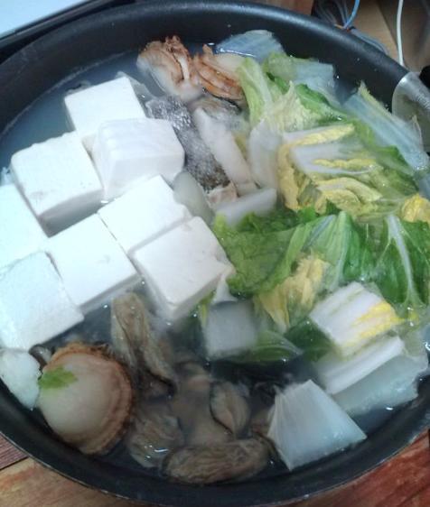ほたて・牡蠣・白身魚入り