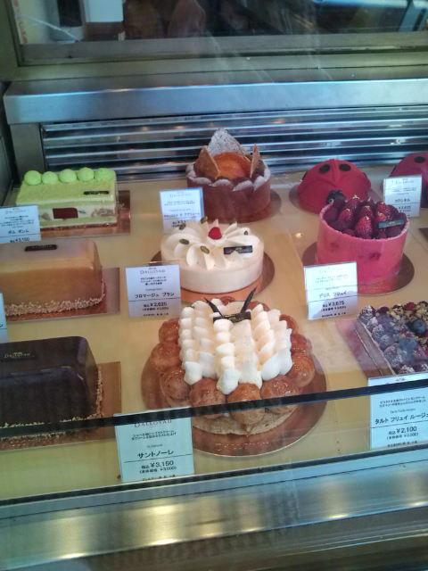 美味しそうなケーキがいっぱい