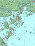 しまなみ海道ルート図
