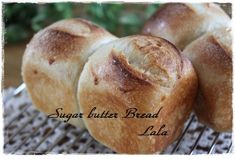 ミニシュガーバターパン