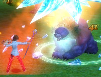 (´・(ェ)・`)クマーとの戦い