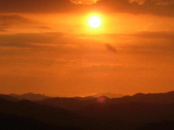 和歌山夕焼け