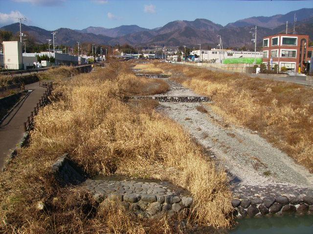 冬の水無川54