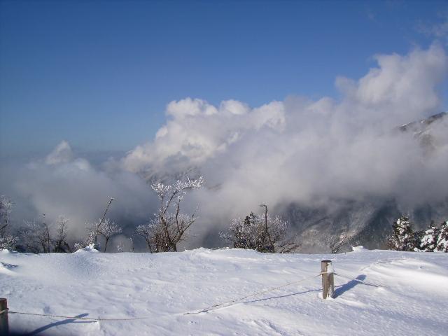 雪と青空39