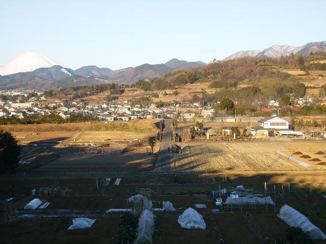 白富士と田原盆地37