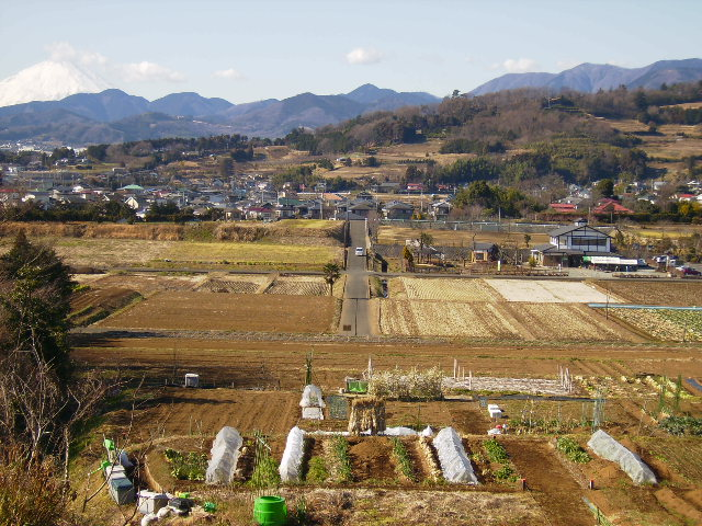 白富士と田原盆地058