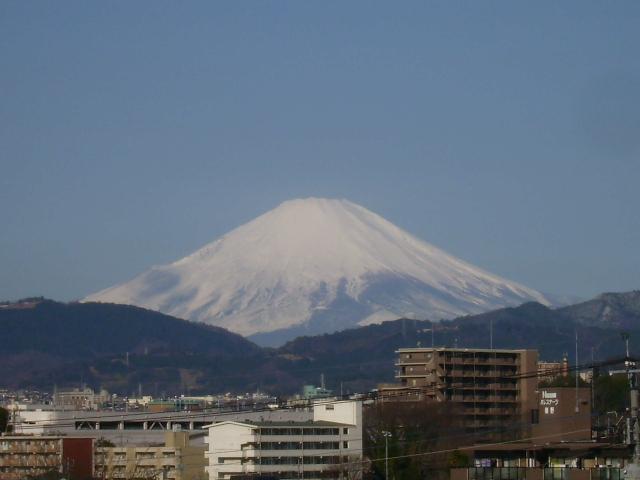 春の白富士84