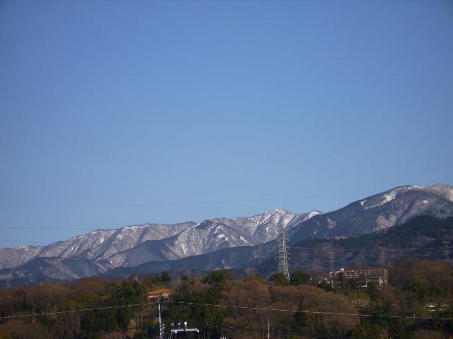 春雪の丹沢82