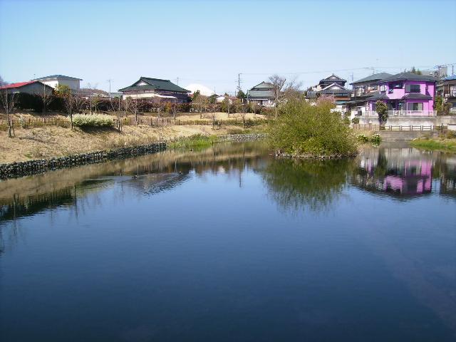 白富士と春の名水106