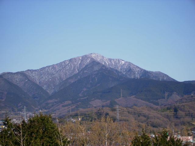 春雪の大山94