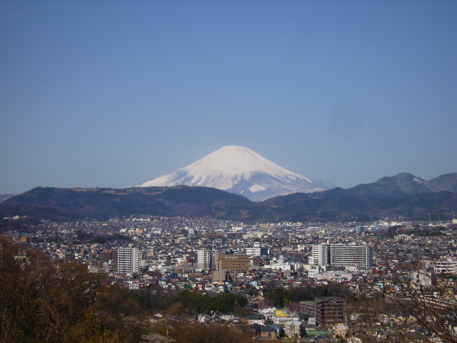 春の白富士88