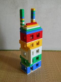 ダイヤブロックのビル