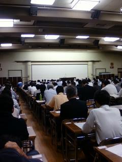名古屋市公会堂での研修会状況