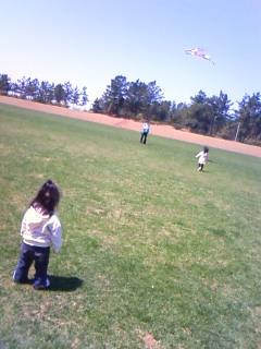 パパと凧揚げ1