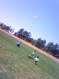 パパと凧揚げ2