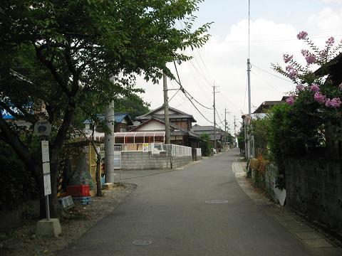 旧中山道・大篠原