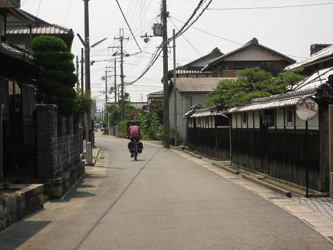 旧中山道・大篠原村立場跡