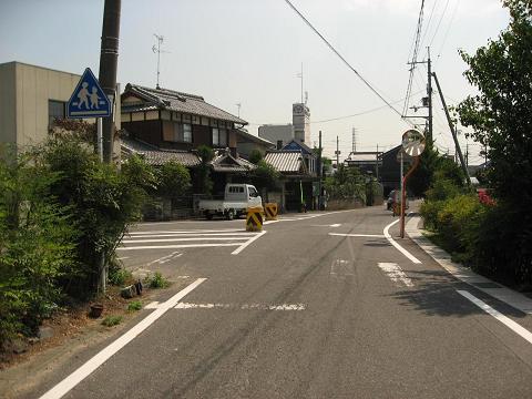 旧中山道・三ツ坂