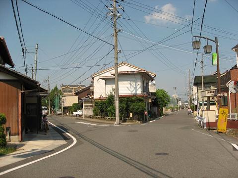 中山道・朝鮮人街道の分岐点