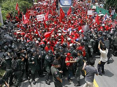 タイ反政府デモ3