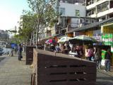 川沿い商店街
