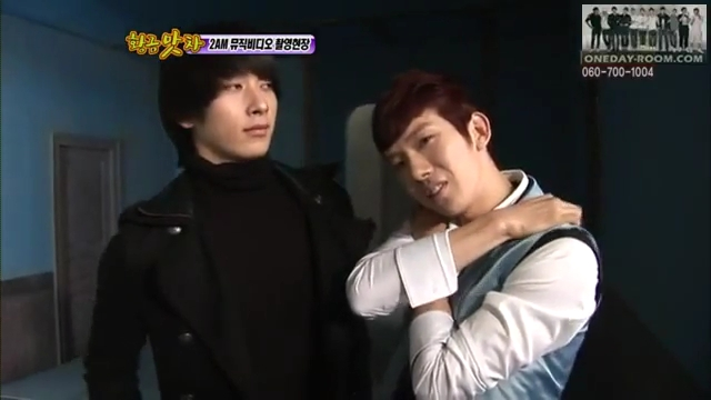 100115 Section TV 2AM Shooting MV 2PM guest.flv_000143367